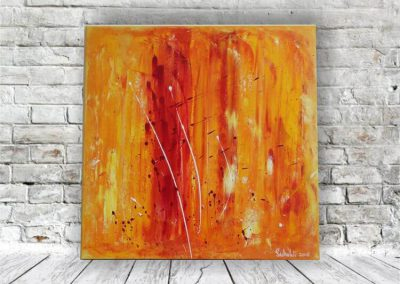 Feuer am Horizont Acrylbild Abstrakt als Geschenksidee ART00003 (11)