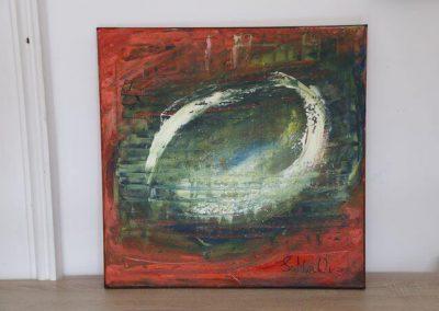 Im Auge des Lichts  50x50 Preis 350 Euro