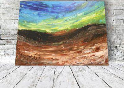 Landschaft Abstrakt  ART00059 80x60 Preis 320 Euro