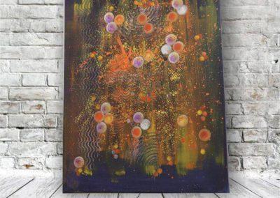 Tiefe der Galaxie  Wandbild Abstrakt ART00014 (1)