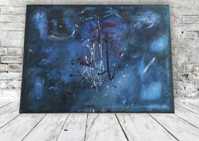 Unter dem Meer Wandbild Abstrakt ART00019 (1)
