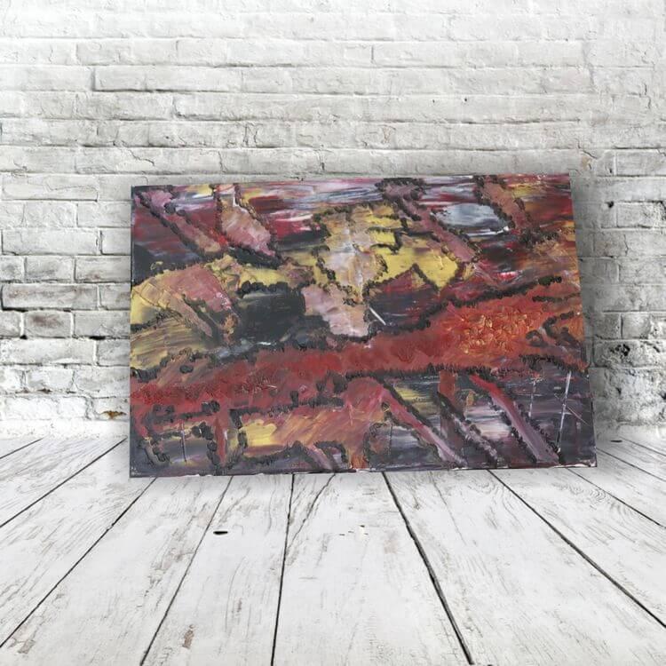 Leinwandbild Wandbilder online Shop moderne abstrakte kunst